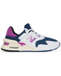 Mens New Balance 247 Deconstructed Moroccan Tile with Rain Cloud Navy Trainers