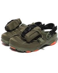 Crocs™ Bespoke Classic All Terrain Beams Military Olive - Green