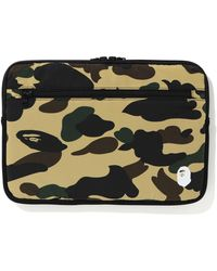 A Bathing Ape 1st Camo Pc Case (13in) - Yellow