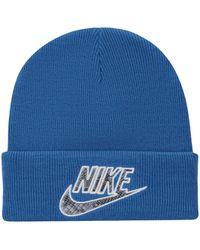 Supreme Nike Snakeskin Beanie - ブルー