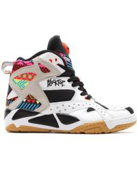 reebok pump up shoes for sale