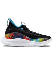 Under Armour Curry 8 Tie Dye Black - ブラック