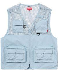 440887f7e425e Belstaff - Cargo Jacket - Men - Cotton/leather/polyester/viscose - 52 in  Blue for Men - Lyst