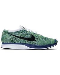 Nike - Flyknit Racer Tranquil - Lyst