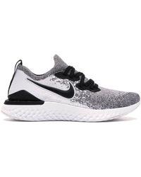 Nike Epic React Flyknit 2 White Pure Platinum (w) - ホワイト