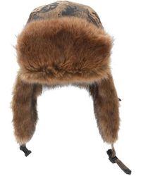 a9fbdf6bd52ef Lyst - Pendleton Printed Trooper Hat in Brown for Men