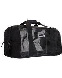 Supreme Big Duffle Bag (ss20) - Black