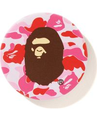 A Bathing Ape Abc Ape Head Popsockets - Pink