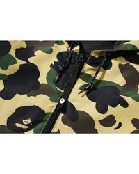 A Bathing Ape 1st Camo Hoodie Jacket (ss19) - イエロー