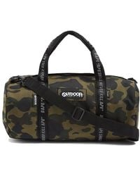 A Bathing Ape - Camouflage-print Woven Duffle Bag - Lyst