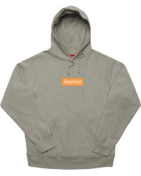 2b0f12be Supreme Box Logo Pullover Hoodie Multi in Red for Men - Lyst