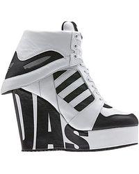 adidas Js Streetball Platform White Black (w)