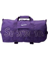 Supreme Duffel Bag 'fw 18' - Purple
