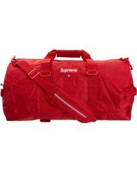 Supreme Duffle Bag (ss19) - Red