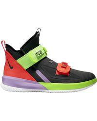 Nike Lebron Soldier 13 Sfg Basketball Shoe (thunder Grey) - Clearance Sale - Gray