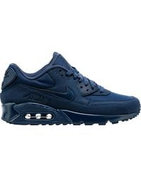 Nike Air Max 90 Midnight Navy in Blue for Men Lyst