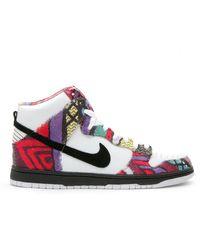 new style 22dee bc064 Nike Sb Dunk High Daniel Shimizu for Men - Lyst