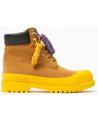 "Timberland 6"" Bbc Bee Line Wheat Yellow - イエロー"