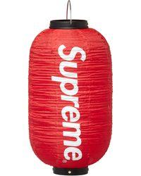 Supreme Hanging Lantern - Red
