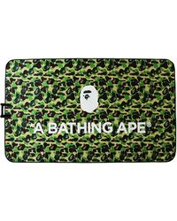 A Bathing Ape Abc Picnic Sheet - Green