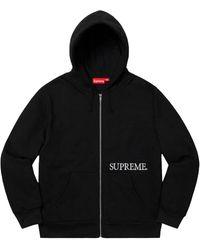 Supreme Thermal Zip Up Hooded Sweatshirt - ブラック