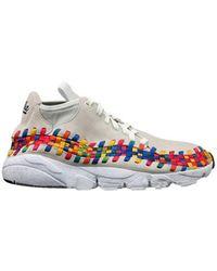 Nike - Air Footscape Woven Chukka Rainbow - Lyst
