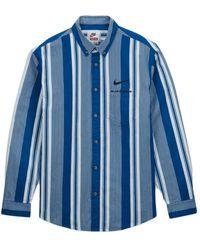 Supreme Nike Cotton Twill Shirt - ブルー