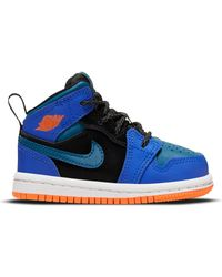 Nike - 1 Mid Racer Blue Green Abyss (td) - Lyst