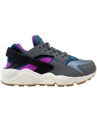 Nike Air Huarache Run Sneakers - Gray