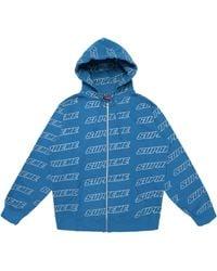 Supreme - Repeat Zip Up Hooded Sweatshirt - Lyst