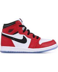 Nike Aj 1 High - Shoes - Red