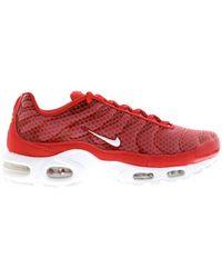 Nike - Air Max Plus Mesh University Red - Lyst