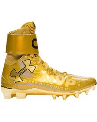 Under Armour Ua C1n Cleats Mvp (signed) - イエロー