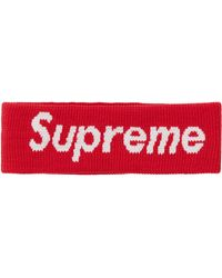 Supreme Nike Nba Headband - Red