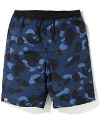 Bape A Bathing Ape Shark Head Shorts Camo Sweatshorts Beach Men/'s Short Pants