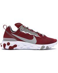 Nike React Element 55 Alabama - Red