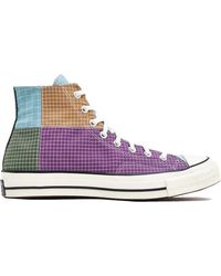 chuck taylor all star patchwork smoke high top