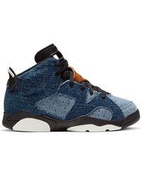 Nike 6 Retro Washed Denim (ps) - ブルー