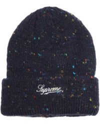 30cd1fc75 Colored Speckle Beanie Navy