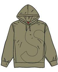 Supreme - Laser Cut S Logo Hooded Sweatshirt - Lyst