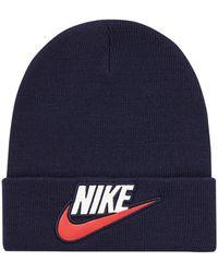 Supreme Nike Beanie - Blue