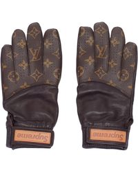 Supreme X Louis Vuitton Baseball Gloves - Brown
