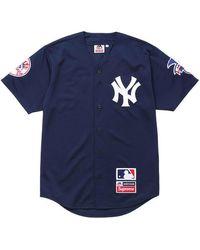 Supreme Yankees Baseball Jersey - Blue