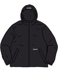 Supreme Reflective Zip Hooded Jacket - ブラック