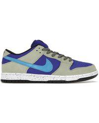 Nike Dunk Low Sb Celadon - Blue