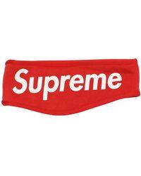 Supreme Fleece Headband (fw13) - Red