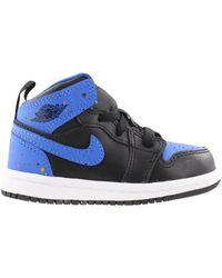 Nike 1 Mid Royal Paint Splatter (td) - Blue