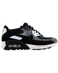 Nike Air Max 90 Flyknit Ultra 2.0 W Women's Shoes (trainers) In Black