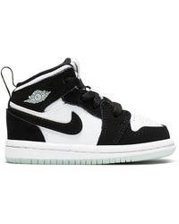 Nike - 1 Mid White Black Teal Tint (td) - Lyst