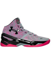 new product 6c669 e268d Under Armour Curry 4 Flushed Pink for Men - Lyst
